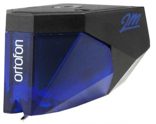 Ortofon 2M Blue è una testina fonografica di colore blu