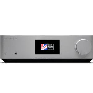 Cambridge Audio Edge NQ è un preamplificatore e media player silver vista frontale