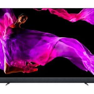 Philips B&W 55 OLED903 è un TV nero vista frontale