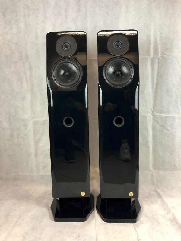Care Orchestra Spiritual Blue è un diffusore usato da pavimento vista frontale