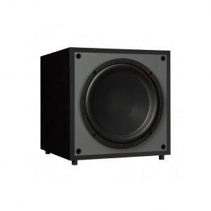 Monitor Audio Monitor MRW-10 è un subwoofer nero aperto